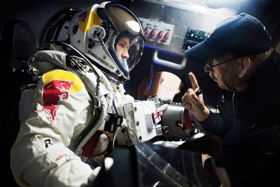 In premiera mondiala, prezentarea capsulei Red Bull Stratos care se va ridica la limita Spatiului
