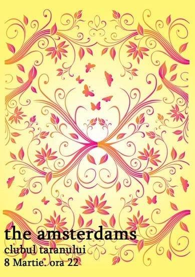 The Amsterdams @ Clubul Taranului