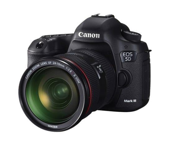 S-a lansat Canon EOS 5D Mark III - 22MP, 61 puncte AF, ISO nativ 100-25.600, 6 fps, DIGIC 5+ etc