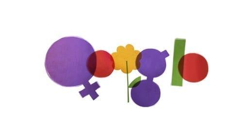 Logoul Google cu ocazia Zilei Internationale a Femeii