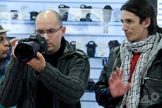 Puteti testa Canon 5D Mark III si 1Dx la F64 Studio