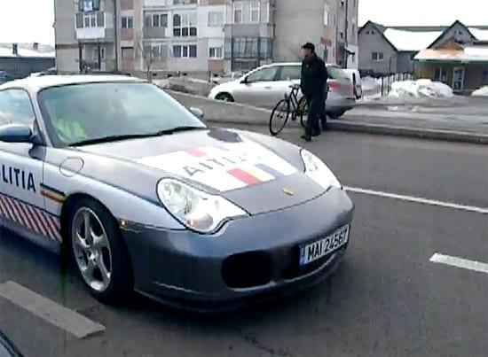 Porsche 911 Turbo  - noua dotare a Politiei Prahova pentru DN1