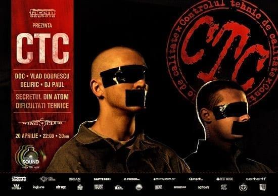 Concert aniversar CTC 10 ani @ Wings Club
