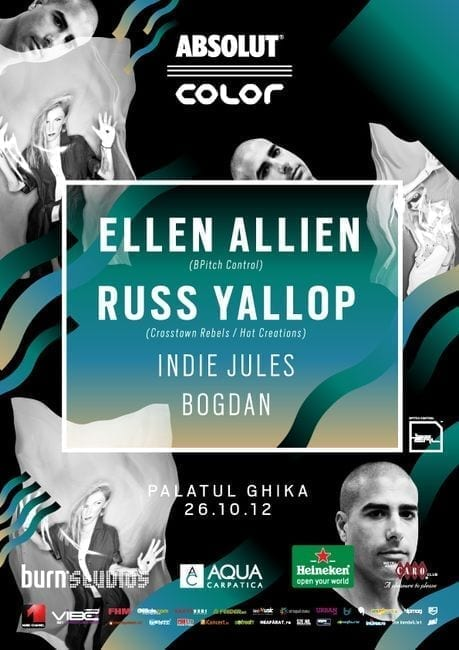 Ellen Allien si Russ Yallop