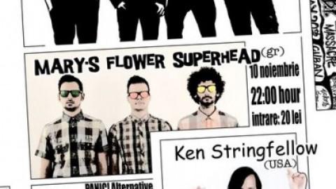 The Amsterdams, Ken Stringfellow, Mary's Flower Superhead