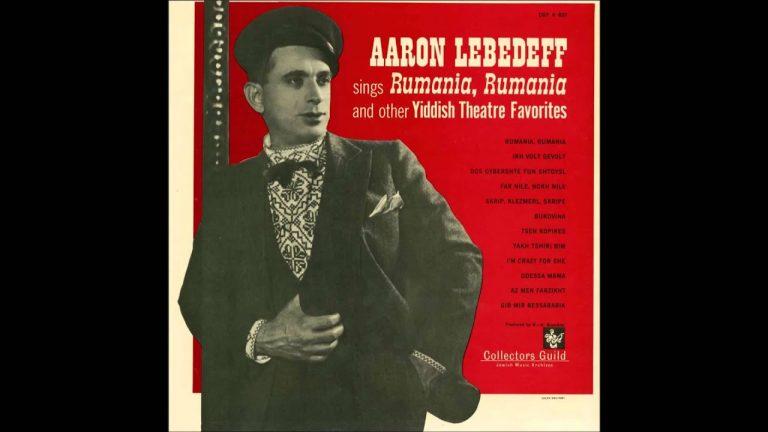 Aaron Lebedeff - Romenye, Romenye