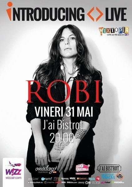 Introducing Live: Robi, electro-pop francez la J'ai Bistrot