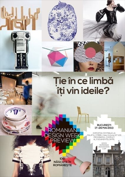 Vernisaj Romanian Design Week - expozitia centrala