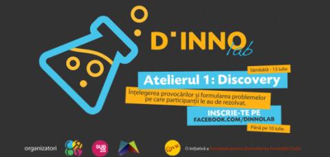 D'inno Lab – design thinking pentru binele comunitatii
