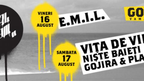 Local Jam: EMIL, Vita de Vie, Niste Baieti, Gojira & Planet H