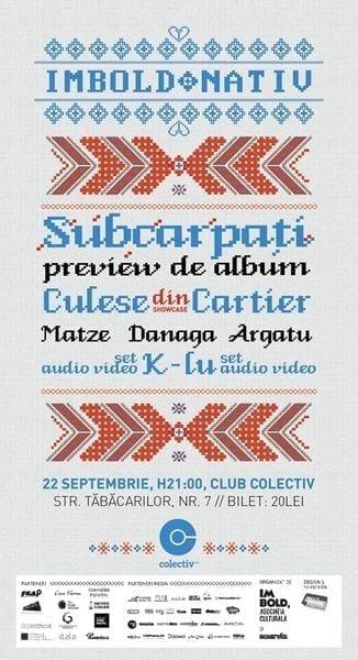 Subcarpati - preview album nou