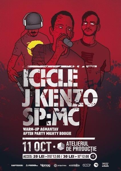 Icicle, J Kenzo, SP:MC