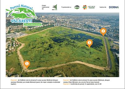Ecologizare parc natural Vacaresti