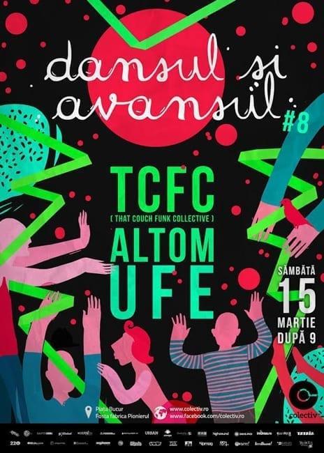 Dansul și Avansul #8 - That Couch Funk Collective, UFe, AltOm @ Colectiv