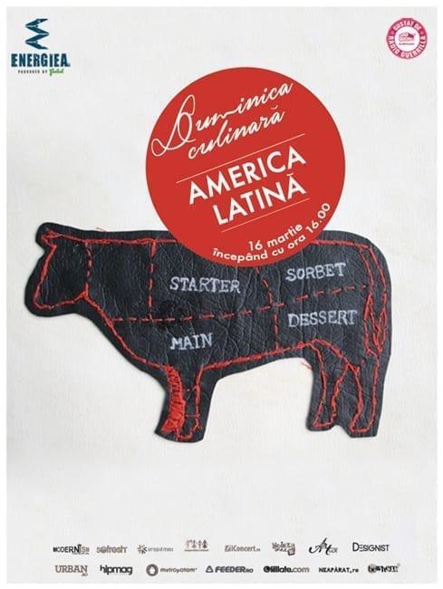 Duminica Culinară – America Latină @ Energia