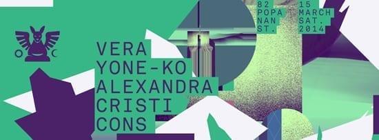 Vera, Yone-ko, Alexandra și Cristi Cons @ Guesthouse
