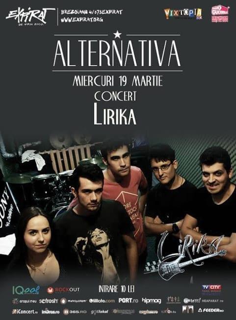 ALTERNATIVA – Concert: LIRIKA @ EXPIRAT