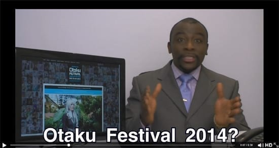 Moe Tyrone 5000 despre Festivalul Otaku 2014