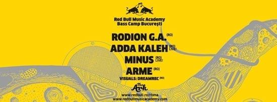 RBMA Bass Camp - Rodion G.A., Adda Kaleh, Minus, Arme @ The Ark