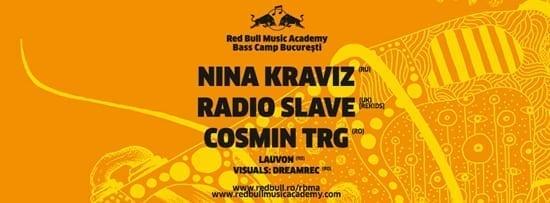 RBMA Bass Camp - Nina Kraviz, Radio Slave, Cosmin TRG si Lauvon @ Kristal