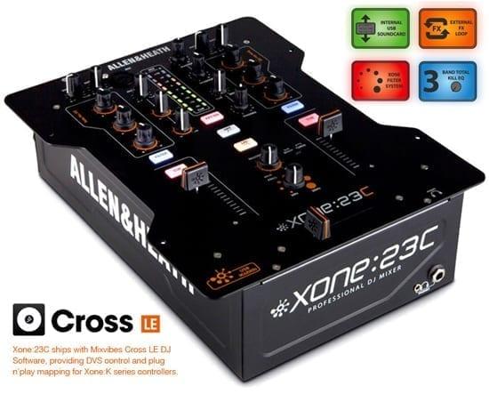 Allen & Heath Xone:23C 2+2 DJ Mixer