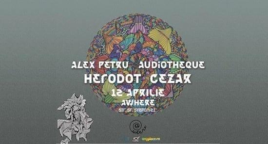 Cezar, Herodot, Alex Petru, Audiothèque @ Sfantul Stefan 21