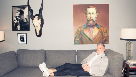 Nick Wooster x The Coveteur