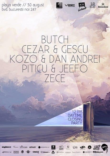 We Dance w/ Butch , Cezar , Gescu , Kozo , Dan Andrei , Piticu , Jeefo , Zece @ Playa Verde
