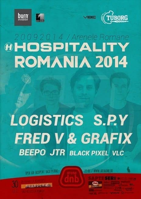 Hospitality Romania 2014 w/ Logistics / S.P.Y / Fred V & Grafix