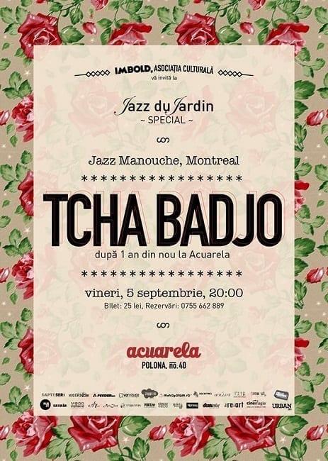 Tcha Badjo – gypsy jazz live @ Acuarela