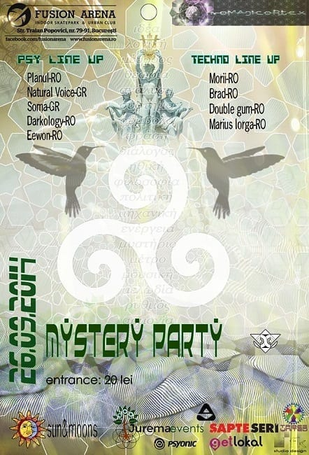 Mystery party @ Fusion Arena