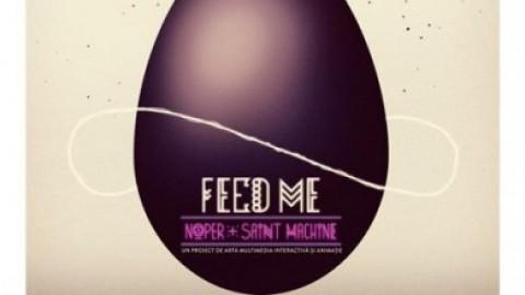 București 555 de ani: Instalație de artă contemporană – FEED ME! @ Piața Universității