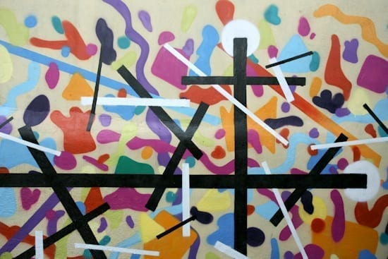 Graffiti session & scratching session @ Misbits