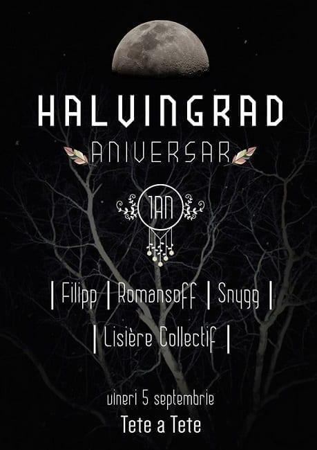 Halvingrad aniversar (1 an) - Filipp, Romansoff, Snygg, Lisiere Collectif @ Tete a Tete