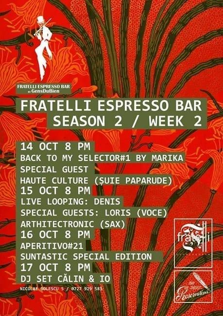 GensDuBien w/ Dj Marika @ Fratelli Espresso Bar