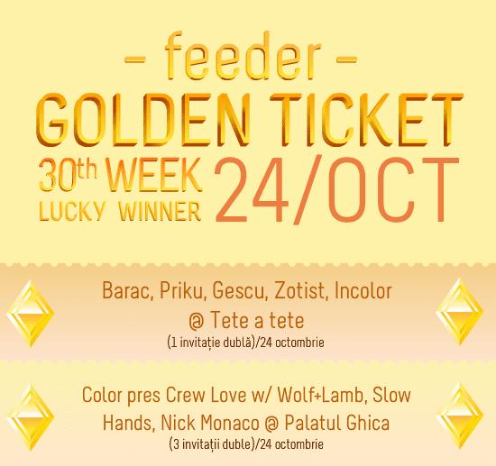 Golden Ticket W30 (part 2)