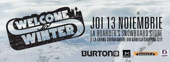 Welcome to Winter '15 @ Boarder's Snowboard Store si Grand Cinema & More, Baneasa