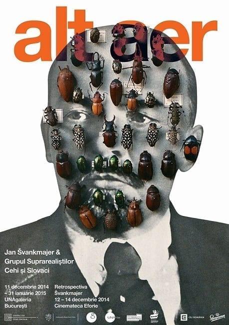 ALT AER | Jan Švankmajer & Grupul Suprarealiștilor Cehi și Slovaci @ UNAgaleria