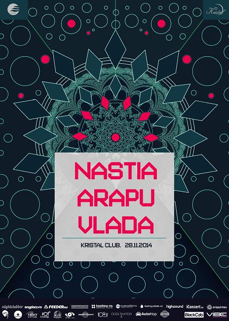Sunrise presents: Nastia, Bella Sarris, Vlada @ Kristal Club