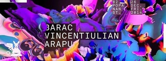 GH Christmas Party: Barac / Arapu / Vincentiulian @ Guesthouse