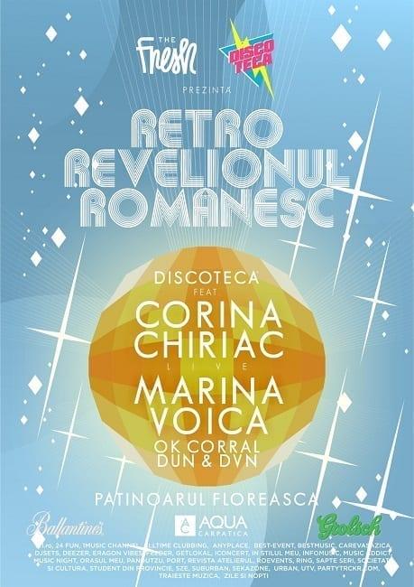 The Fresh și Discotecă prezintă Retro Revelionul Românesc @ Patinoarul Floreasca