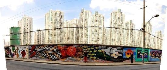 Obie Platon - Pollution, Shanghai, 2014 - final, panoramic view