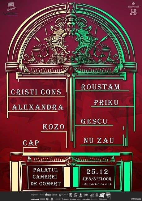 We Dance w/ Roustam, Cristi Cons, Kozo, Gescu, Priku, Alexandra, Cap, Nu Zau @ Palatul Camerei De Comert
