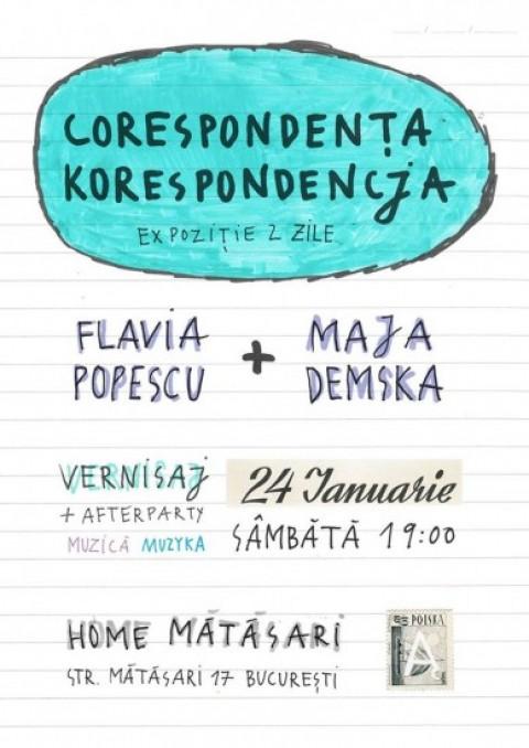 CORESPONDENҬA / KORESPONDENCJA vernisaj + party