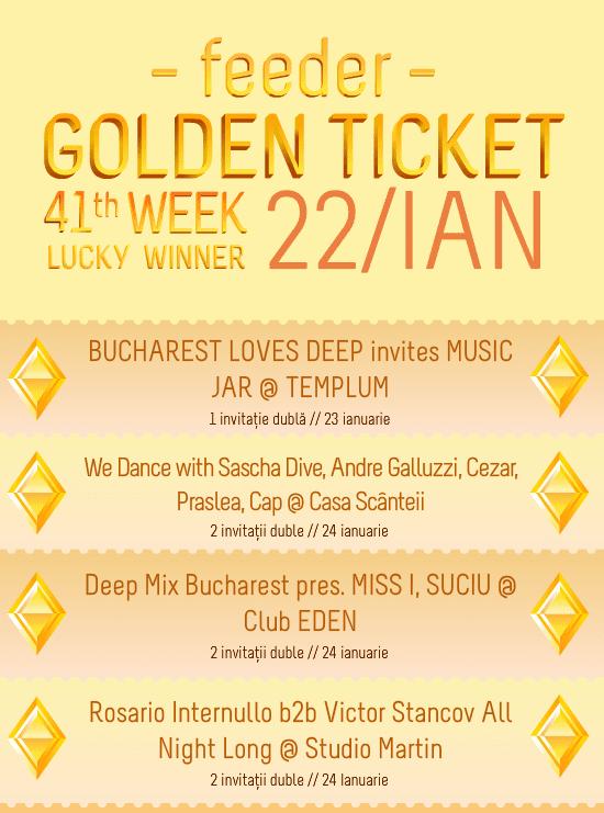 Golden Ticket W41