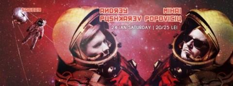 Andrey Pushkarev b2b Mihai Popoviciu @ Carioca Club