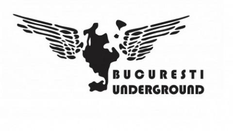 Bucuresti Underground 2.0 w Herodot, Miss I, Gri, Vernisaj artwork mapping & visuals Vloop