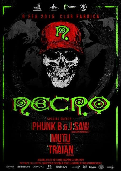 Necro [Death Rap King] - US @Fabrica