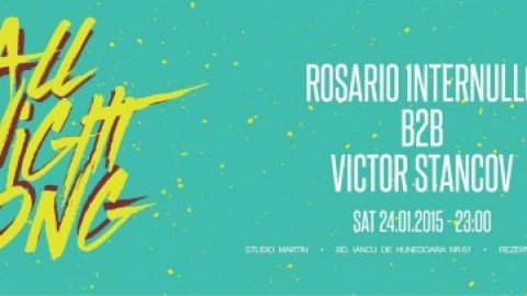 Rosario Internullo b2b Victor Stancov All Night Long @ Studio Martin
