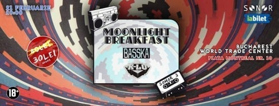 SONOR III w/ Moonlight Breakfast, BASSKA, K-lu @ WTC